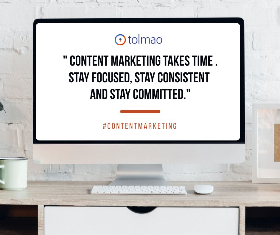 Content Marketing Takes Time