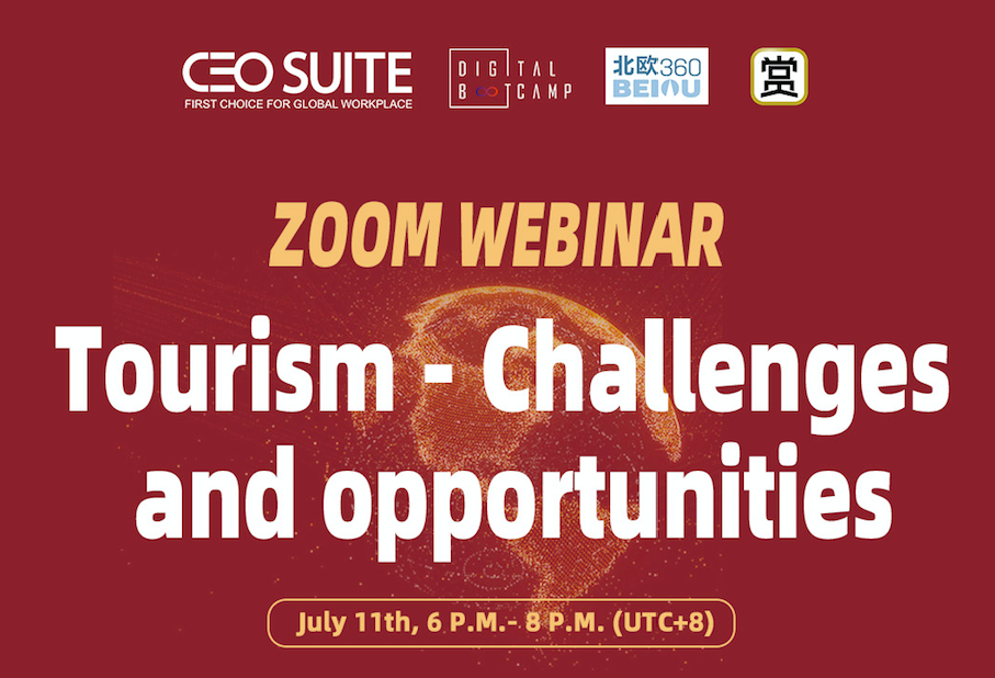 July 11th Webinar: Tourism – Challenges and opportunities