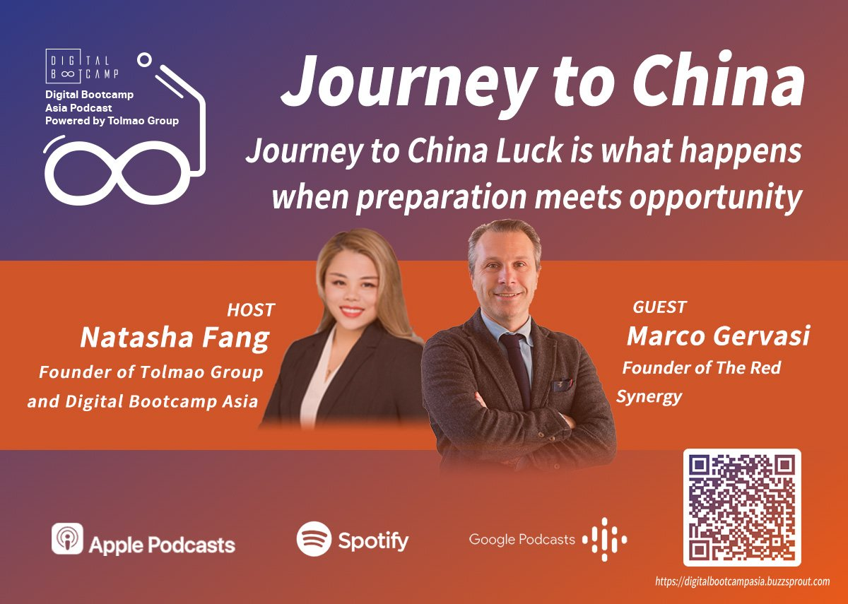 [DBA Podcast #2] Journey to China with Marco Gervasi, founder of The Red Synergy