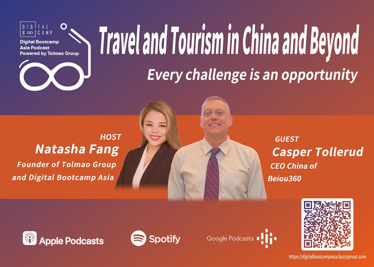 [DBA Podcast #3]Travel and Tourism in China and Beyond with Casper Tollerud, CEO China of Beiou360