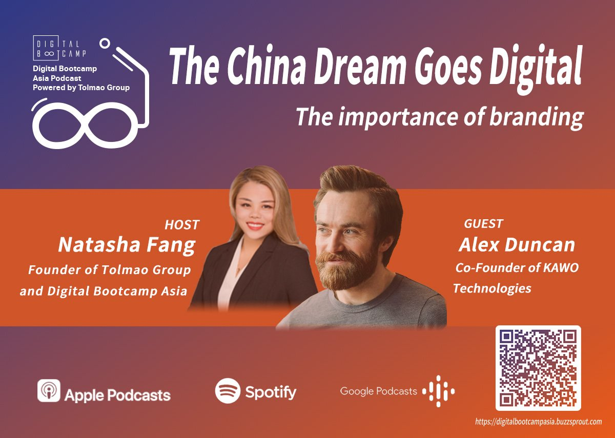 [DBA Podcast #4] The China Dream Goes Digital with Alex Duncan, Co-Founder of KAWO Technologies