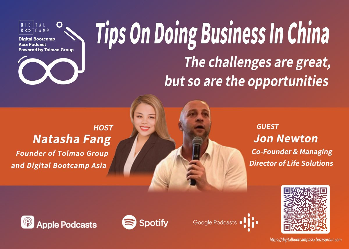 [DBA Podcast #1] Tips on doing business in China ft. Jon Newton