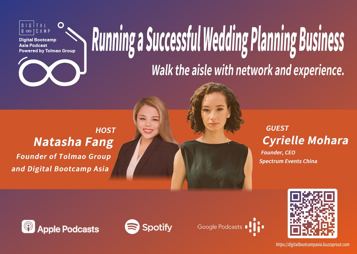 [DBA Podcast #9] Running a Successful Wedding Planning Business with Cyrielle Mohara