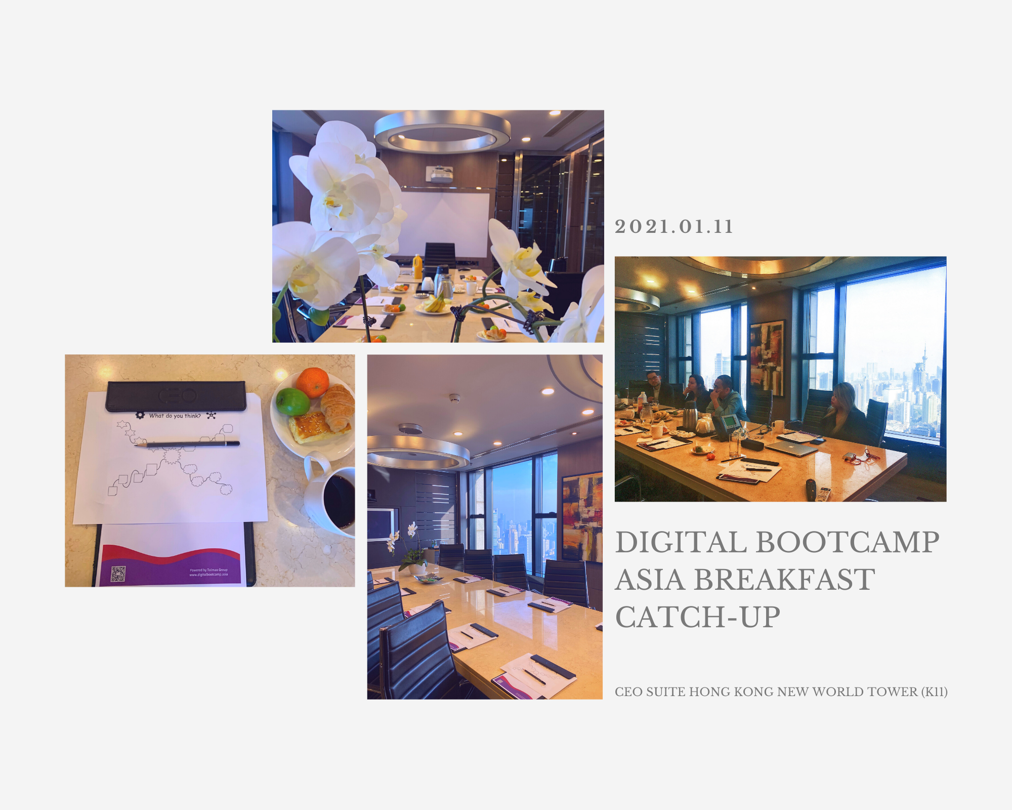 Breakfast Catch-up Recap: The Early Bird Catches the Worm